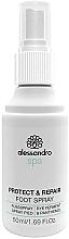 Perfumería y cosmética Sprey antifúngico para pies con pantenol - Alessandro International Spa Protect & Repair Foot Spray