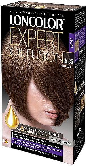 Tinte permanente para cabello con karité sin amoníaco - Loncolor Expert Oil Fusion