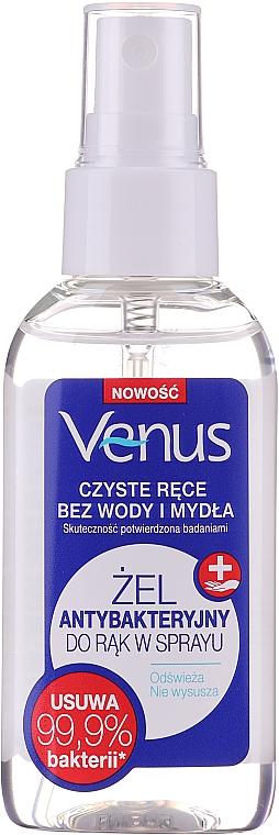 Gel de manos antibacteriano en spray - Venus Antibacterial Hand Gel Spray