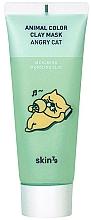 Perfumería y cosmética Mascarilla facial de arcilla calmante con extracto de aloe vera - Skin79 Animal Color Clay Mask Angry Cat