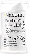 Perfumería y cosmética Paño desmaquillante de bambú - Nacomi Bamboo Face Cloth