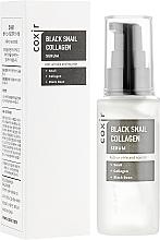 Perfumería y cosmética Sérum facial antiarrugas con colágeno y baba de caracol - Coxir Black Snail Collagen Serum