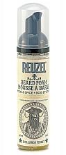 Perfumería y cosmética Espuma para barba con aroma a manera y cedro - Reuzel Beard Foam Wood And Spice