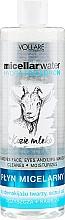 Perfumería y cosmética Agua micelar para rostro, ojos y labios con ácido hialurónico y leche de cabra - Vollare Goat's Milk Micellar Water Hedra Hyaluron