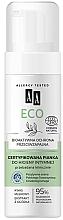 Perfumería y cosmética Espuma de higiene íntima eco con ácido lactobiónico y extracto de pepino - AA Cosmetics Eco