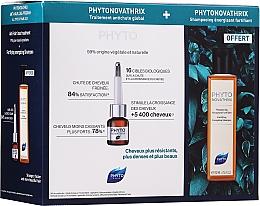 Perfumería y cosmética Set tratamiento anticaída de cabello con extracto de tulipán y células madre de globularia - Phyto PhytoNovathrix Anti-Hair Loss Program Treatment