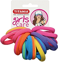 Perfumería y cosmética Gomas de pelo, 16uds., muticolores - Titania Girls Care
