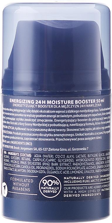 Crema facial energizante con aceite de canola - Lumene Men Voima Energizing 24h Moisture Booster — imagen N2