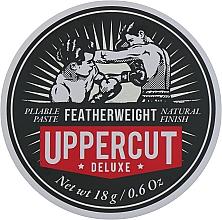 Perfumería y cosmética Pasta de peinado para hombres, fijación media y acabado mate - Uppercut Deluxe Featherweight (mini 18g)