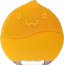Perfumería y cosmética Cepillo de limpieza facial, BR-030, amarillo - Lewer