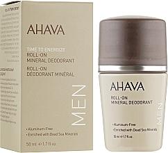 Perfumería y cosmética Desodorante antitranspirante roll-on con minerales del Mar Muerto - Ahava Time To Energize Men's Roll-On Mineral Deodorant
