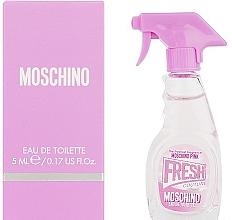Perfumería y cosmética Moschino Pink Fresh Couture - Eau de toilette (mini)