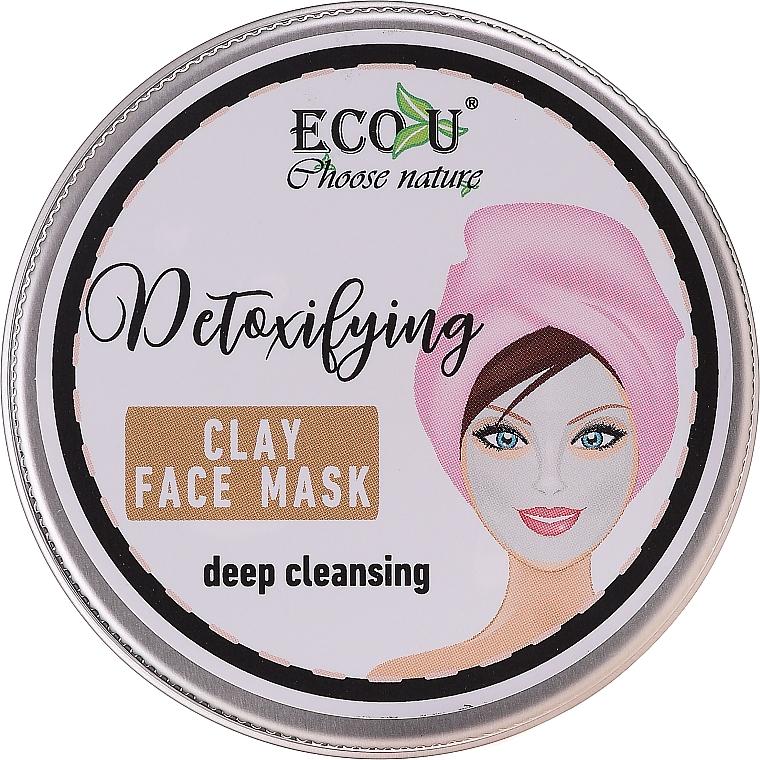 Mascarilla facial detox con extracto de menta - Eco U Detoxifying Deep Cleansing Clay Face Mask