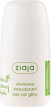 Perfumería y cosmética Desodorante roll-on antitranspirante - Ziaja Olive Leaf Roll On Anti-perspirant Without Aluminium Salt