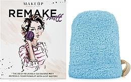 """Perfumería y cosmética Guante desmaquillante, turquesa """"ReMake"""" - MakeUp"""