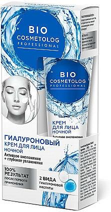 Crema facial hidratante con ácido hialurónico noche - Fito Cosmetic BioCosmetolog Prof