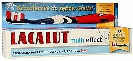 Perfumería y cosmética Set dental multiefecto - Lacalut (pasta/75ml + cepillo)