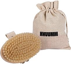 Perfumería y cosmética Cepillo de baño y masaje corporal de fibras suaves, marrón claro - Hhuumm № 3