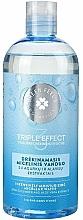 Perfumería y cosmética Agua micelar hidratante con extracto de pepino - Green Feel's Triple Effect Intensively Moisturizing Micellar Water
