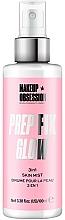 Perfumería y cosmética Spray fijador de maquillaje vegano nutritivo y antioxidante con jugo de aloe vera 3 en 1 - Makeup Obsession Prep Fix Glow 3 in 1 Skin Mist