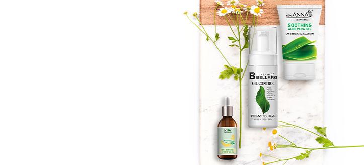 Rebajas del 10% en toda la gama de New Anna Cosmetics, Fergio Bellaro y EcoU. Los precios indicados tienen el descuento aplicado