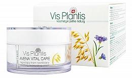 Perfumería y cosmética Crema facial con avena, aceite de argán, manteca de karité y pantenol - Vis Plantis Avena Vital Care Moisturizing Day Cream