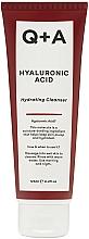 Perfumería y cosmética Gel de limpieza facial hidratante con ácido hialurónico - Q+A Hyaluronic Acid Hydrating Cleanser