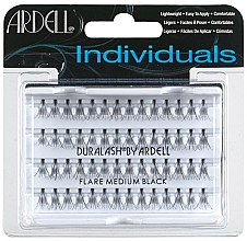 Perfumería y cosmética Pestañas postizas individuales, longitud media - Ardell Individuals Flare Lashes Medium Black