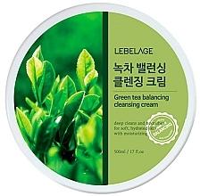 Perfumería y cosmética Crema de limpieza facial con extracto de té verde - Lebelage Green Tea Balancing Cleansing Cream