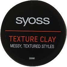 Perfumería y cosmética Arcilla moldeadora con fijación extra fuerte - Syoss Texture Clay