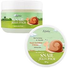 Perfumería y cosmética Mascarilla facial hidratante con baba de caracol - Esfolio Snail Shape Memory Jelly Pack