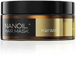 Perfumería y cosmética Mascarilla capilar con queratina - Nanoil Keratin Hair Mask