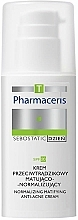 Perfumería y cosmética Crema facial hidratante antiacné con ácido cítrico - Pharmaceris T Sebostatic Normalizing Matifying Anti-Acne Cream SPF20