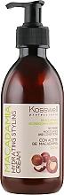 Perfumería y cosmética Crema para cabello con aceite de macadamia sin aclarado - Kosswell Professional Macadamia Hydrating Styling Cream