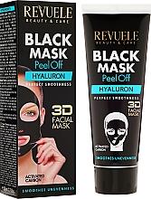 Perfumería y cosmética Mascarilla facial negra peel off con carbón activado y hialuronato de sodio - Revuele Black Mask Peel Off Hyaluron