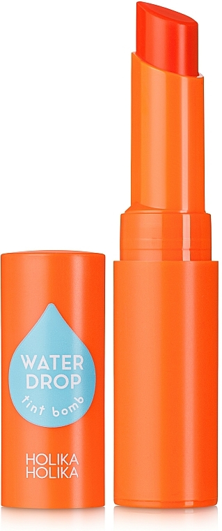 Bálsamo labial con agua oxigenada de papaya - Holika Holika Water Drop Tint Bomb