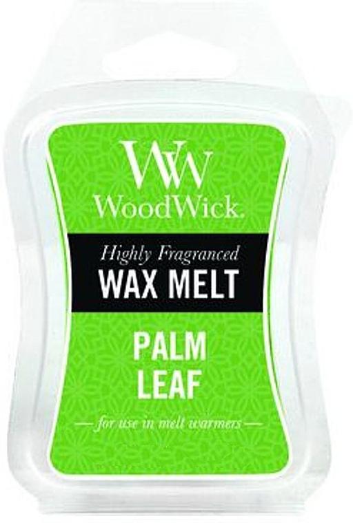 Cera para lámparas aromáticas, hoja de palmera - WoodWick Wax Melt Palm Leaf