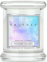 Perfumería y cosmética Vela en tarro con aroma a sándalo & fresa - Kringle Candle Watercolors