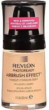 Perfumería y cosmética Base de maquillaje cremosa de cobertura media a completa, SPF 20 - Revlon Photoready Airbrush Effect Foundation