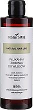 Perfumería y cosmética Enjuague para cabello antiinflamatorio con vinagre de hibisco, extracto de palma sabática y algodón - NaturalME Natural Hair Balm