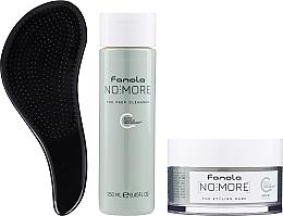 Perfumería y cosmética Set (champú/250ml + mascarilla/200ml + cepillo) - Fanola No More