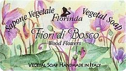 Perfumería y cosmética Jabón vegetal artesanal con aroma a flores de madera - Florinda Sapone Vegetale Vegetal Soap Wood Flowers