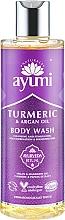 Perfumería y cosmética Gel de ducha con extracto de cúrcuma y aceite de argán - Ayumi Turmeric & Argan Oil Body Wash