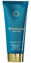 Perfumería y cosmética Exfoliante facial con minerales del Mar Muerto - Mineralium Matte&Clear Exfoliating Scrub