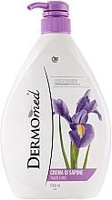 Perfumería y cosmética Crema de jabón de talco e iris - Dermomed Cream Soap Talc And Iris