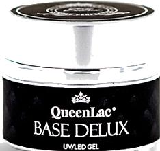 Perfumería y cosmética Base coat, UV/LED - QueenLac Base Delux UV Gel Polish