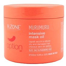 Perfumería y cosmética Mascarilla para cabello seco y dañado a base de aceites - H.Zone Option Murumuru Intensivr Mask Oil