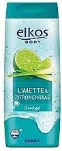 Perfumería y cosmética Gel de ducha con extracto de lima y limoncillo - Elkos Lime & Lemongrass Shower Gel