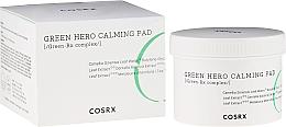 Perfumería y cosmética Parches calmantes de tónico con té verde & hamamelis - Cosrx One Step Green Hero Calming Pad