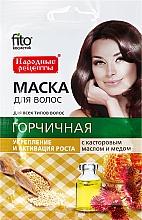 Perfumería y cosmética Mascarilla capilar con mostaza, aceite de ricino y miel para fortalecer y crecer - Fito Cosmetic